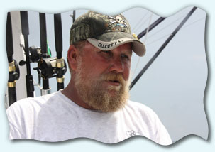 Captain John Anthony Barker of Blue Waters II fishing charters.